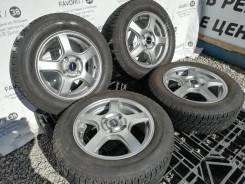 """Бронзовые диски Toprun на шинах Bridgestone 175/65R14. 5.5x14"""" 4x100.00 ET45"""