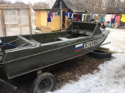 Продам лодку ока-4 с мотором ямаха 50