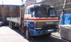 Unic. Продам грузовой атомобиль с манипулятором Isuzu, 17 000куб. см., 10 000кг., 8x2