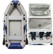 Надувная лодка Solar Marine 3.6м c надувным основанием