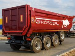 Crosser. Самосвальный полуприцеп Grosser F30