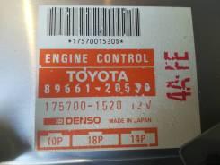 Блок управления двс Toyota Corona/Carina AT175 4AFE 89661-20530
