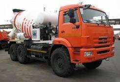 КамАЗ 58146T-04. Автобетоносмеситель 58146T шасси КамАЗ 43118 (6х6) 6м3, 10 850куб. см., 6,00куб. м. Под заказ