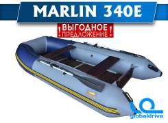 Надувная лодка ПВХ Марлин 340Е