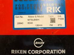 Кольца поршневые MITSUBISHI FUSO 6D40 JAPAN (RIK) STD 20640