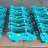 Быстросъем механический (квик-каплер) на экскаваторы от 4 до 6 тонн