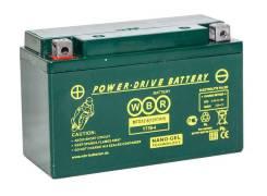 Аккумулятор WBR MT12-8 8Ач. (YT7B-4)