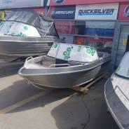 Новая моторная алюминиевая лодка Тактика 390DC