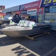 Новая моторная алюминиевая лодка Тактика 490
