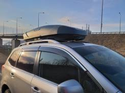 Автобокс Broomer Venture (L) 430 л, Серый титан