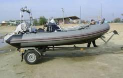 Риб Буревестник 450 Honda BF50