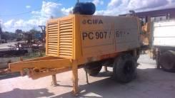 Стационарный бетононасос CIFA PC 907/612 D8 2013 г. в.