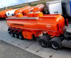 Bonum. Полуприцеп цистерна для транспортировки светлых ГСМ, 39 000кг.