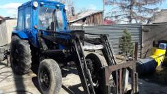 МТЗ 82. Трактор МТЗ-82 с куном 1т., 80 л.с.