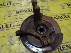 Кулак поворотный левый (в сборе) Renault Logan