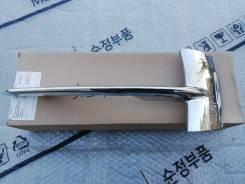 Накладка решетки бампера переднего (хром) правая BMW X5 51117325396