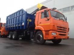 КМУ Ломовоз КамАЗ-65115-3094-50 (Евро-5), кузов 30 куб.,Майман-110S,захват ГЛ-6, 2020