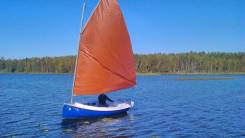 Парусная яхта кэт бот «tom cat 12ft». 2019 год год
