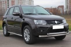 Защита дуга переднего бампера Suzuki Vitara (двойная) 2005-2015