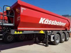 Kassbohrer. DL самосвальный полуприцеп 32 м3 ССУ 1250 мм, 31 000кг.