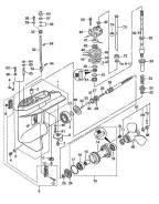 Уплотнение трубки охлаждения tohatsu 30 (верхнее)