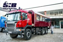 Scania P400. Вахтовый автобус 6x6. Под заказ
