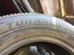 Bridgestone Turanza ER33. летние, 2009 год, б/у, износ 40%