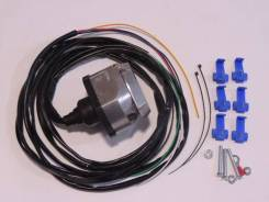 Разъем-розетка с проводкой для подключения фаркопа/ прицепа