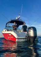 Моторный катер для отдыха и рыбалки