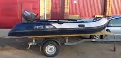 Комплект: лодка(ПВХ) Shturman Max 380 с мотором и прицепом в Иркутск