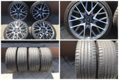 """235/40-265/35R19 Dunlop лето - с литьем Lexus - оригинал. 8.0/9.0x19"""" 5x114.30 ET45/60 ЦО 60,1мм."""