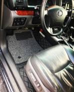 3D коврики кожаные со вставками Land Cruiser 100 и другие