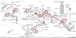 Сайлентблок. Suzuki Escudo, TA74W, TD54W, TD94W Suzuki Grand Vitara, TA04V, TA44V, TA74V, TA7D1, TD44V, TD54V, TD941, TD943, TD944, TD945, TD947, TD94...