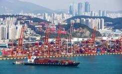 Вывоз грузов с Южной Кореи.