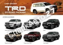 Обвес кузова аэродинамический. Toyota Land Cruiser, GRJ200, J200, URJ200, URJ202, URJ202W, UZJ200, UZJ200W, VDJ200 1GRFE, 1URFE, 1VDFTV, 2UZFE, 3URFE....