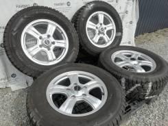 "Литые диски Keeler на шинах Dunlop 285/60R18. 8.0x18"" 5x150.00 ET52"