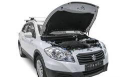 Амортизаторы капота Suzuki SX4 2013-2016г. ( газовые упоры капота)