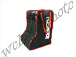 Сумка для бот DRC Boots Bag Черно красный D28-01-020