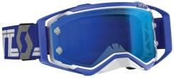 Очки Scott Prospect white/blue (линза хром) 268178-1029278