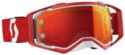 Очки Scott Prospect white/red (линза хром) 268178-1030280