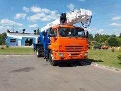 Випо-32. Автогидроподъемник ВИПО-32-01 шасси Камаз-43253 (4x2), 6 700куб. см., 32,00м.