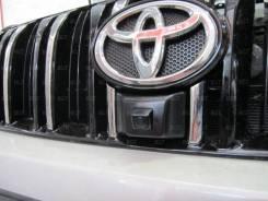 Камера переднего вида на автомобиль Toyota(Prado) камера 12В, провода в комплекте (тюльпан). Цена только для сайта