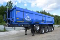 Тонар 95234. п/прицеп самосвал (38 м3, 4 осн) ССУ 1350, 37 850кг.