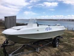 Продам моторную лодку Казанка 5м7