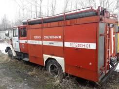 Пожарная автоцистерна АЦ-4063Б, в отличном состоянии, 2002 год, 25т. км
