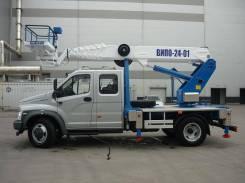 Автогидроподъемник ВИПО-22-01 на шасси ГАЗ-С42R33 NEXT (4х2) кабина 7м, 2020