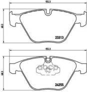 Колодки Тормозные Дисковые Передние Bmw (Brilliance) 3 Series (E90) 10/04-09/12 / Bmw (Brilliance) 3 Series (F30, F35) 07/12- / Bmw (Brilliance) X1 (E84) 03/12- / Bmw 3 (E90) Brembo арт. P06055X