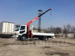 Mitsubishi Fuso Fighter. 2004 с краном, 8 200 куб. см., 5 000 кг., 4x2