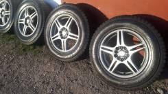 """Колеса Зима 215/70/R-16 Dunlop Grandtrek SJ7. 6.5x16"""" 5x100.00, 5x114.30 ET40 ЦО 70,1мм."""