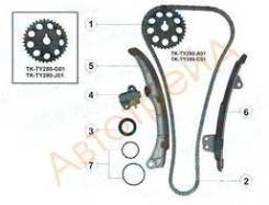 Комплект ГРМ Toyota 1NZ-FE/1NZ-FXE 00-